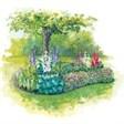 База отдыха Хуторок - иконка «сад» в Бограде